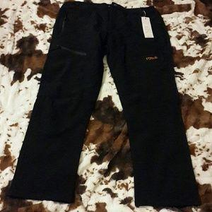 Women's thermal black pants
